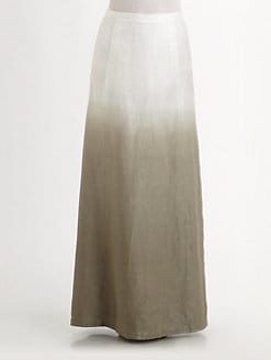 Lafayette 148 New York - Linen Hailey Dip-Dye Skirt