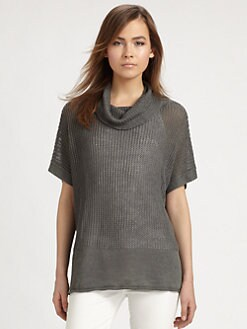 Lafayette 148 New York - Oversized Cowlneck Sweater