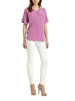 Lafayette 148 New York - Silk Sharona Blouse