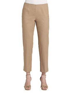 Lafayette 148 New York - Stretch Cotton Ankle Pants