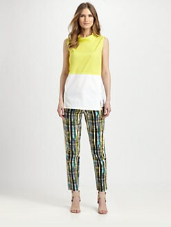 Lafayette 148 New York - Colorblock Raven Top