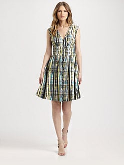 Lafayette 148 New York - Prism-Print Dress