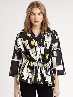 Lafayette 148 New York - Justina Tribal-Print Jacket