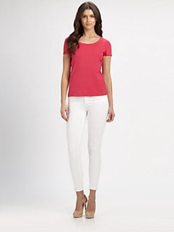 Lafayette 148 New York - Scoopneck Tee