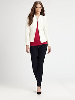 Lafayette 148 New York - Margot Zip-Front Jacket