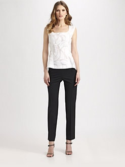Lafayette 148 New York - Cotton/Silk Idina Top