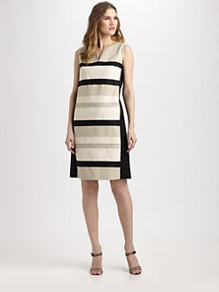 Lafayette 148 New York - Colorblock Noel Dress