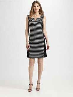 Lafayette 148 New York - Striped Dress