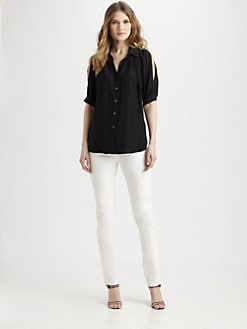 Lafayette 148 New York - Silk Jerrica Top