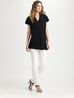 Lafayette 148 New York - Silk Whitley Top