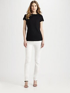 Lafayette 148 New York - Stand-Collar Tee
