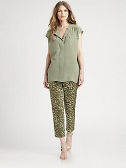 Lafayette 148 New York - Silk Paulette Blouse