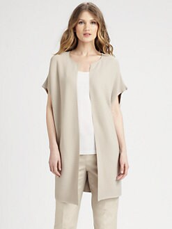 Lafayette 148 New York - Oversized Ribbed Vest