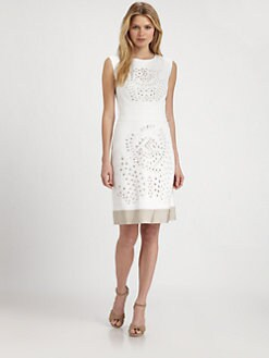 Lafayette 148 New York - Openwork Dress