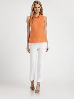 Lafayette 148 New York - Seamed-Waist Top