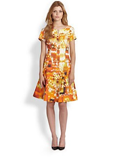 Lafayette 148 New York - Carla Godet-Skirt Dress