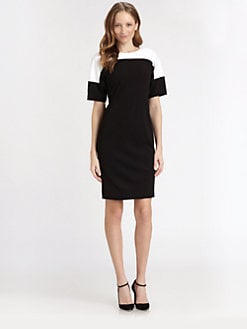 Lafayette 148 New York - Colorblock Dress