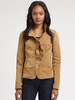 Lafayette 148 New York - Ruffle-Collar Regine Jacket