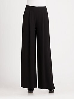 Lafayette 148 New York - Woven Wide Leg Pants