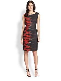 Lafayette 148 New York - Savannah Flame Dress