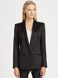 Helmut Lang - Gilded Suiting Blazer
