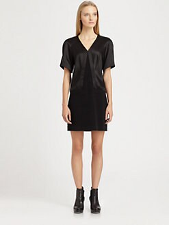 Helmut Lang - Gilded Suiting Dress