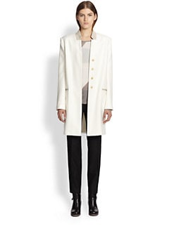 Helmut Lang - Linear Drape Long Coat