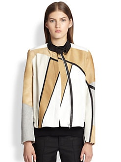 Helmut Lang - Segment Suiting Boxy Jacket