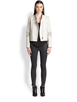 Helmut Lang - Coated Twill Kendo Jacket