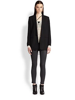 Helmut Lang - Slouchy Suiting Boyfriend Jacket