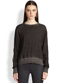 Helmut Lang - Washed Voile Sweatshirt