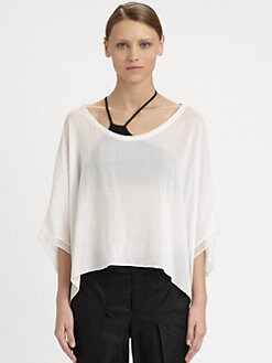 Helmut Lang - Draped Dolman Top
