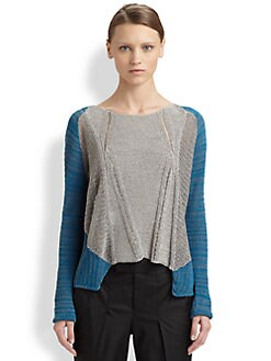 Helmut Lang - Transparent Melange Sweater