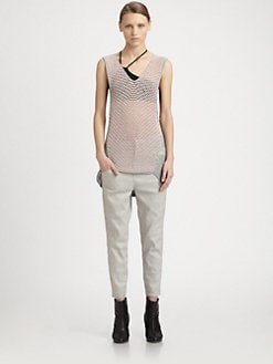 Helmut Lang - Crepe Gauze Knit Tank