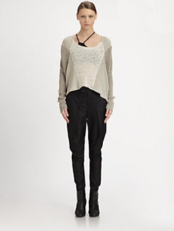 Helmut Lang - Veiled Linen Sweater