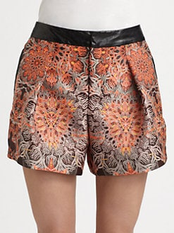 Helmut Lang - Medallion Jacquard Shorts