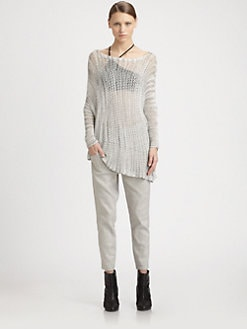 Helmut Lang - Marled Pullover Tunic
