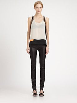 Helmut Lang - Chroma Draped Top