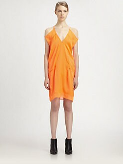 Helmut Lang - Chroma Cutout Dress