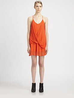 Helmut Lang - Twist Jersey Dress
