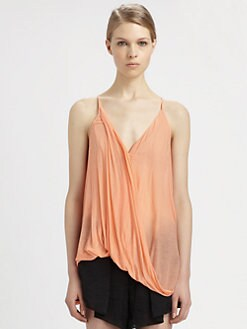 Helmut Lang - Starlight Twist Jersey Top