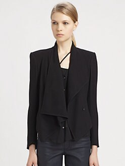 Helmut Lang - HELMUT Helmut Lang Flash Drape Blazer