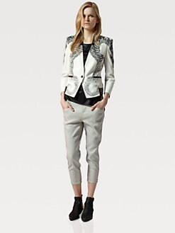 Helmut Lang - Seahorse-Print Blazer