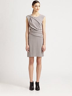 Helmut Lang - Draped Twist Dress