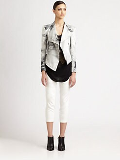 Helmut Lang - Smudge-Print Jacket