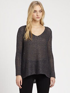 Helmut Lang - HELMUT Helmut Lang Open-Knit Sweater