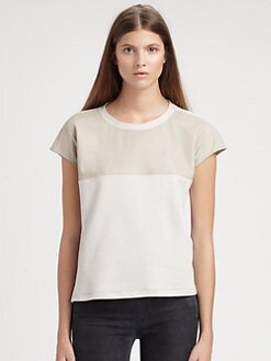 Helmut Lang - Colorblock Cotton Tee