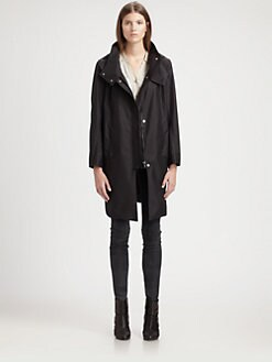 Helmut Lang - Hooded Trenchcoat