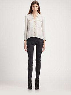 Helmut Lang - Washed Crepe Shirt