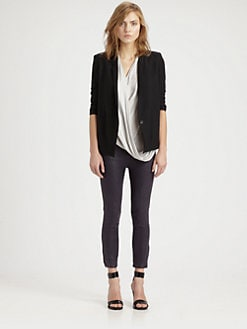 Helmut Lang - HELMUT Helmut Lang Scrunched-Sleeve Blazer